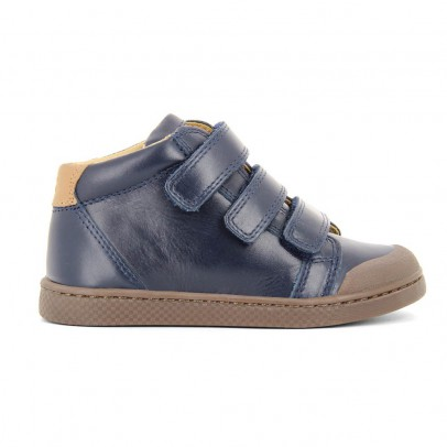 10 IS Leather Velcro Ten 3 Trainers-listing