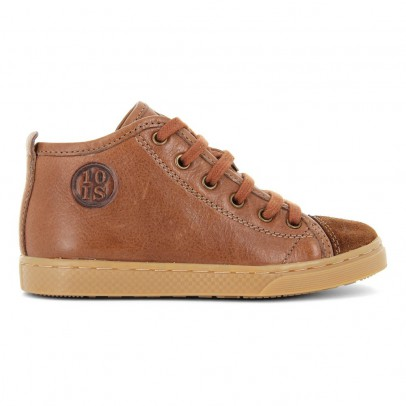 10 IS Baskets Cuir Lacets Zip Ten Base Roots-listing