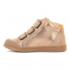 10 IS Iridescent Leather Velcro Ten 3 Trainers-listing