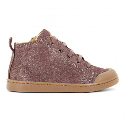 10 IS Suede Lace-Up Ten Mid Trainers-listing