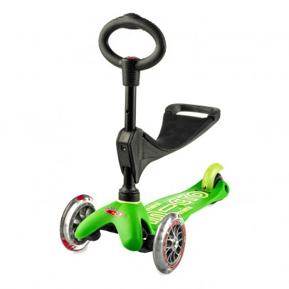 Micro Anodised Deluxe 3-in-1 Mini Micro Scooter-listing