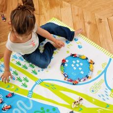 Deuz Tapikid Spielteppich Blau und Grün-listing