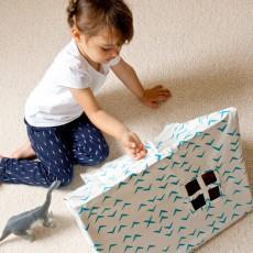 Deuz Mini tienda golondrinas azules-listing