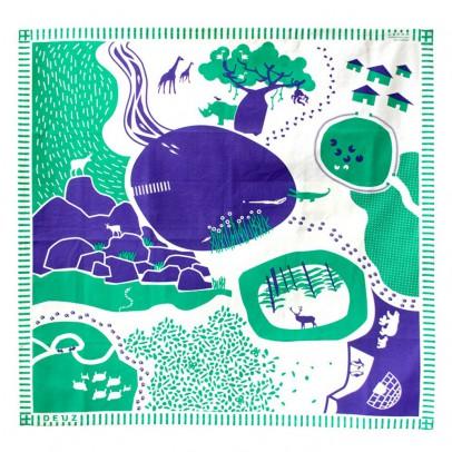 Deuz Alfombras de juego para niños azul y verde-listing