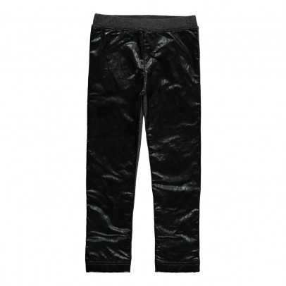 ANNE KURRIS Lurex Imitation Leather Lunga Leggings-listing