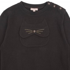 Emile et Ida Cat Sweatshirt-listing