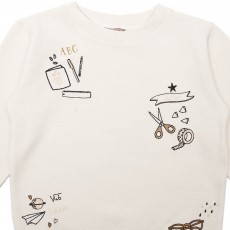 Emile et Ida Embroidered School Sweatshirt-listing