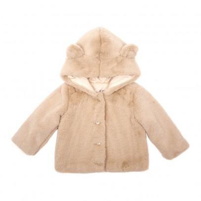 Emile et Ida Faux Fur Coat with Cat Ears-listing