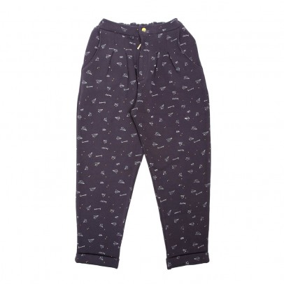 Emile et Ida Airplanes Sweat Trousers-listing