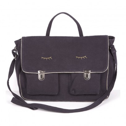 Emile et Ida School Shoulder Eye Bookbag-listing