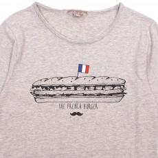 Emile et Ida T-Shirt Burger Français-listing