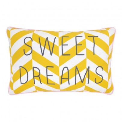"Rose in April ""Sweet Dreams"" Striped Cushion 30x20cm-listing"