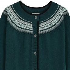 Zef Cardigan Cachemire Jacquard Cortina-listing