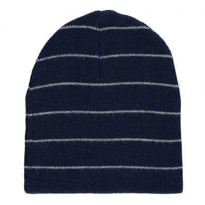 Zef Berretto a righe in lana e cachemire Easy-listing