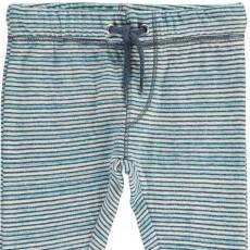 Kidscase Striped Fleece Sugar Sweatpants-listing