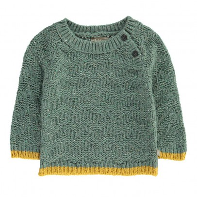 Kidscase ZigZag Knitted Nat Pullover-listing