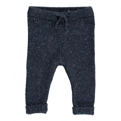 Kidscase Marl Fleck Knitted Nat Trousers-listing