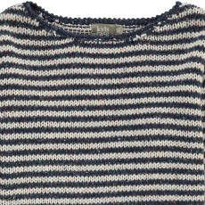 Kidscase Striped Knitted Nat Pullover-listing