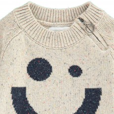 Kidscase Pull Smiley Chiné Nat Zip X Antoine Peters-listing