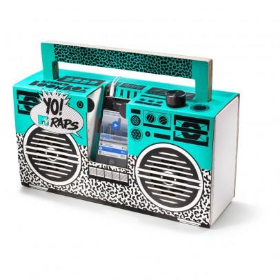 Berlin Boombox Cassa Stile Ghetto blaster 3.0 con Porta USB Yo! MTV raps oldschool -listing