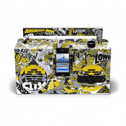 Berlin Boombox Cassa Stile Ghetto blaster 3.0 con porta USB Edizione Artisti by Jeremyville-listing