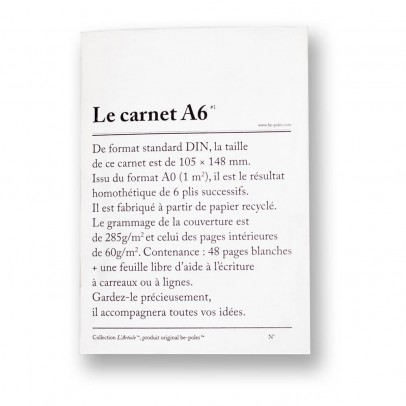 Be Poles Carnets A6 - Set de 3-product