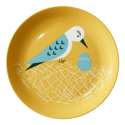 Donna Wilson Dove ceramic plate-product