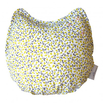 Blossom Paris Lemon Liberty Alphonse Cushion 23x25cm-listing