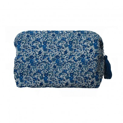 Blossom Paris Liberty Deep Blue Fabric Wash Bag-product