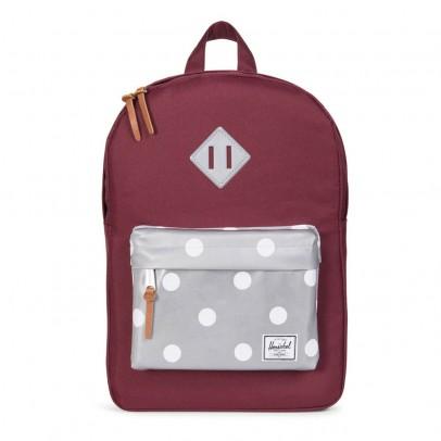 Herschel Reflective Heritage Youth Backpack with Polka Dot Pocket-listing