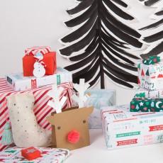 Meri Meri Calcetines de Navidad con pompón - Set de 3-product