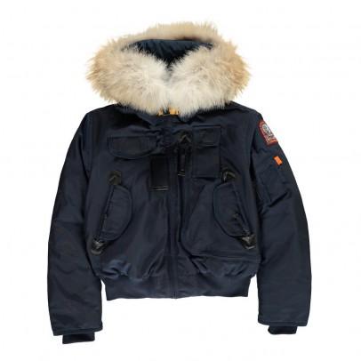 Parajumpers Faux Fur Hooded Gobi Boy Bomber Jacket-listing