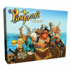 product-Blackrock Games Piratoons Board Game
