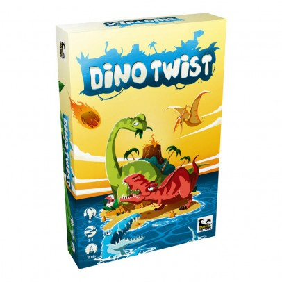Blackrock Games Dino Twist Board Game-listing
