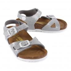 Birkenstock Sparkly Rio Sandals-listing