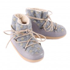 Anniel Boots Fourrées Pois Dorés Anouk-listing
