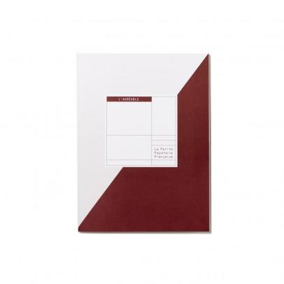 La Petite Papeterie Française Cahier à projets l'Agréable 72 pages-listing