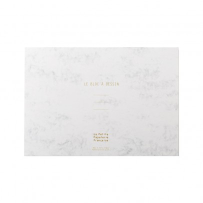 La Petite Papeterie Française Bloc à dessin A4 - 154 feuilles amovibles-listing