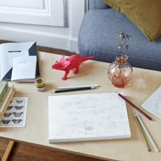 La Petite Papeterie Française A4 Drawing Pad - 154 detachable pages-listing