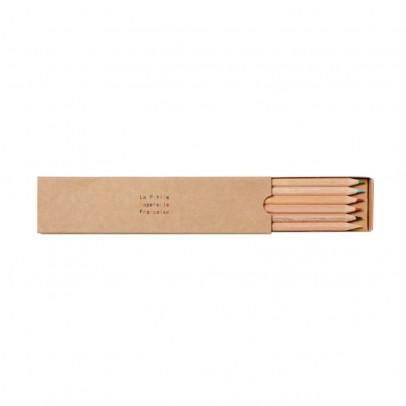 La Petite Papeterie Française Scatola 12 matite colorate-listing