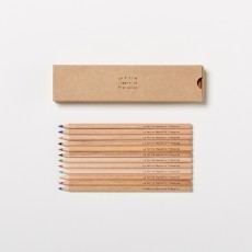 La Petite Papeterie Française Box of 12 Colouring Pencils-listing