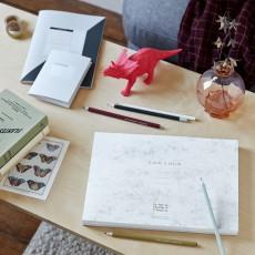 La Petite Papeterie Française Set de 6 crayons à papier assortis-listing