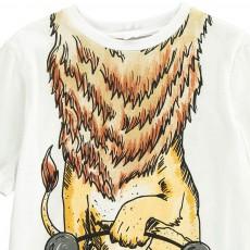Stella McCartney Kids Chuckle Lion T-Shirt-listing