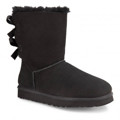 Ugg Bailey Bow Lined Suede Boots-listing