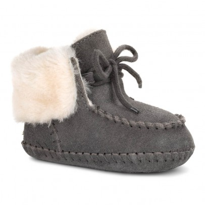 Ugg Sparrow Lined Suede Slippers-listing