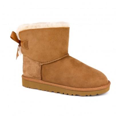 Ugg Gefütterte Wildleder-Stiefel mit Schleifen Mini Bailey Bow II-listing