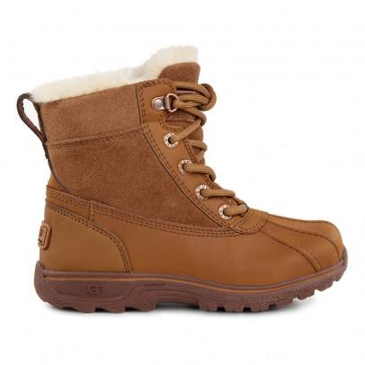 Ugg Boots Lacets Cuir Imperméables Fourrées  Leggero-listing