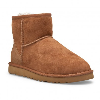 Ugg Classic Mini II Lined Suede Boots-listing