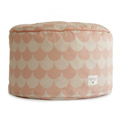 Nobodinoz Tombouctou pouf with scales-listing