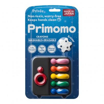 Primomo Crayons de couleur effaçables bague - Set de 6-listing